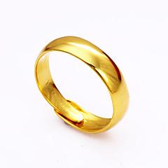 mankiet Pierścień Klasyczny Modny Korygujący Miedź Circle Shape Biżuteria Na Specjalne okazje Urodziny Casual 1 sztuka