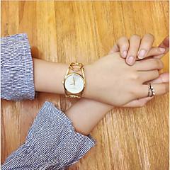 Dames Modieus horloge Polshorloge Armbandhorloge Unieke creatieve horloge Chinees Kwarts Roestvrij staal BandVintage Bangle armband Cool