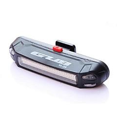 Φώτα Ποδηλάτου Πίσω φως ποδηλάτου LED LED Ποδηλασία Για Υπαίθρια Χρήση Ανθεκτικό στο Νερό Αλλάζει Χρώμα Φως LED USB Μπαταρία Λιθίου 100