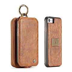 iPhone 7 plusz 7 6s plusz 6 plusz 6 6s caseme retro hasított bőr multi-slot pénztárca esetén táska fedelét