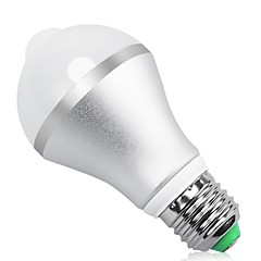 9W E27 B22 LED Smart Bulbs MR11 18 SMD 5630 850 lm Warm/Cool White Infrared Body Sensor Light Control AC85-265 V 1 pcs