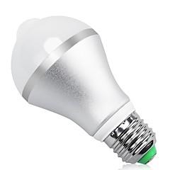 9W E27 B22 vezetett intelligens izzók MR11 18 SMD 5630 850 lm meleg / hideg fehér infravörös test érzékelő fény vezérlő ac85-265 v 1 db