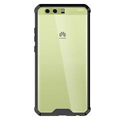 Huawei P8 lite (2017) p10 tapauksessa kattaa voimakkaasti läpäisevän akryyli taustalevy TPU runko yhdistelmä panssaria puhelimen
