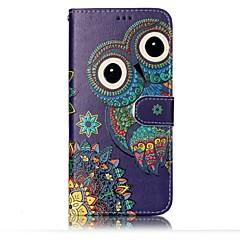 Voor Samsung Galaxy S8 Plus S8 Case Cover Kaarthouder Portemonnee Embossed Pattern Full Body Case Uil Hard Pu Leer voor S7 Kant S7 S6 Kant