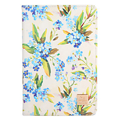 For Apple iPad Mini1 2 3/4 Case Cover with Stand Flip Pattern Full Body Case Flower Hard PU Leather