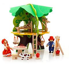 Puzzles 3D - Puzzle Bausteine Spielzeug zum Selbermachen Haus