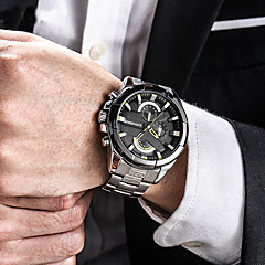 Fashion Military Men Wristwatch Luxury Casual Stainless Steel Band Sports Watches Dynamic Male Leisure Watch