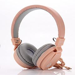 Cute Wired Foldable Headphone Stereo Bass Headset Headband Earphone With Mic