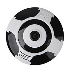 Veskys® 960p 360 fokos fisheye teljes nézet ip wi-fi kamera (1,3mp fisheye wi-fi 10m közel kettős látás)