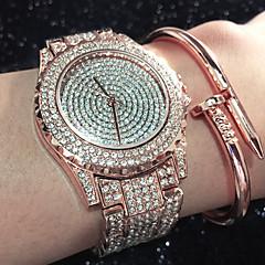 Damskie Modny Zegarek na bransoletce Unikalne Kreatywne Watch Na codzień Sztuczny Diamant Zegarek Chiński KwarcowyWodoszczelny Kryształ