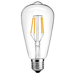 4W E27 st64 הבציר הוביל אדיסון נורות נימה אור אנרגיה נורת חיסכון 4W led- 40W שווה ערך (220-240V)