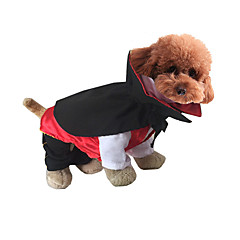 Cat Dog Costume Dog Clothes Halloween Cartoon Jade Green Fuchsia Black White