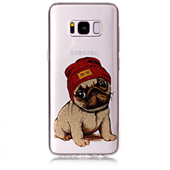 Tok samsung galaxis s8 plusz s8 telefon tok tpu anyag imd folyamat kutya minta hd flash por telefonos tok s7 él s7 s6 él s6