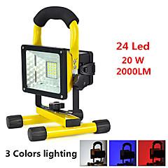 LED fény Kézi elemlámpák LED 2000 lumens Lumen 3 Mód LED 18650 Riasztás - Ébresztős Ütésálló Sürgősségi Szuper könnyű High Power