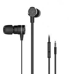 Plextone® g20in-ear e-sport spel metall tung bas hörlurar med mikrofon för iphone6 ​​/ iphone6 ​​plus mobil / pad / mp3 / pc