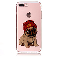 Case For Apple iPhone 7 Plus 7 Phone Case TPU Material IMD Process Dog Pattern HD Flash Powder Phone Case 6s Plus 6 Plus 6S 6 5S 5 SE