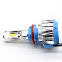 PHILIPS LED H8 H11 6500K Fog Lamp Xtreme Vision Bright White 12834UNIXJ2 Canbus