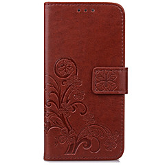 For ASUS ZenFone Max ZC550KL ZE520KL Case Card Holder Wallet with Stand Flip Embossed Full Body Case Flower Hard PU Leather For ZenFone3(ZE552KL)(5.5)