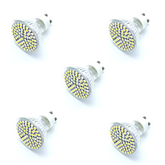 5pcs 5W GU10 LED Spotlight 72 SMD 2835 Warm/ Cool White Decorative Led Lamp Lampada LED Bulb Energy Saving Home Light AC220-240V
