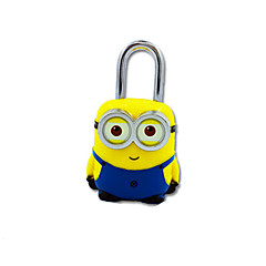 Jy-80060 abs materiaal wachtwoord hangslot 3 cijfer wachtwoord mini slot geel boxer slot slot anti-diefstal reis kast dail lock wachtwoord