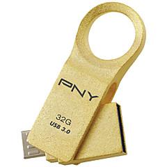 Pny ou6 32g otg micro usb usb 3.0 roterende flashdrev u disk til android mobiltelefon tablet