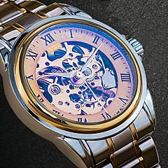 Heren Dress horloge Modieus horloge Polshorloge Unieke creatieve horloge Vrijetijdshorloge Japans Automatisch opwindmechanismeKalender