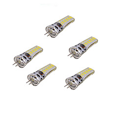 G4 3W 300lm 12-SMD 5730 LED Cold White/Warm White Light Bulb Lamp AC/DC 12V(5pcs)