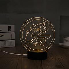 LED Night Light USB Lys Dekorations Lys-0.5W-USB Dekorativ - Dekorativ
