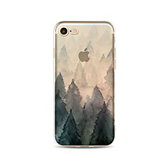 Case for iphone 7 plus 7 cover padrão transparente back cover caso árvore soft tpu para apple iphone 6s mais 6 mais 6s 6 se 5s 5c 5 4s 4