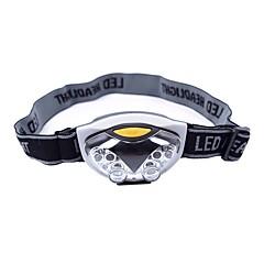 Φακοί Κεφαλιού LED 500 Lumens 3 Τρόπος LED ΑΑΑ Ελαφριά Κατασκήνωση/Πεζοπορία/Εξερεύνηση Σπηλαίων Καθημερινή Χρήση Ποδηλασία Κυνήγι Ψάρεμα