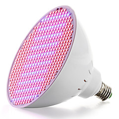 E27 50W 400 Rød: 100 Blå 500 SMD LED Vokse Lys For Blomstrende Plante Og Hydroponi