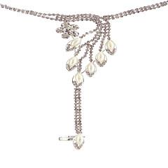 Naisten Amuletti-rannekorut Rannekoru-sormukset Strassi Obsidiaani Bikini Muoti Monitaso Kimalletta pukukorut Tekohelmi Tekojalokivi