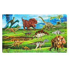 puzzle-uri Puzzle Lemn Blocuri de pereti DIY Jucarii Dinosaur