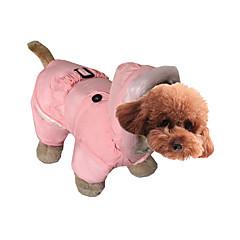 Pies Kombinezon Ubrania dla psów Codzienne Stały Gray Czerwony Różowy