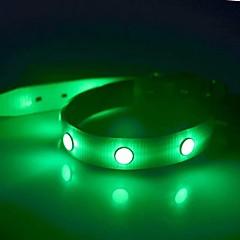 Κολάρα Φως LED Στροβοσκόπηση Μονόχρωμο