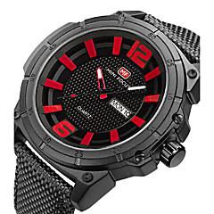 Ανδρικά Αθλητικό Ρολόι Στρατιωτικό Ρολόι Μοδάτο Ρολόι Ρολόι Καρπού Μοναδικό Creative ρολόι Καθημερινό Ρολόι Χαλαζίας Ημερολόγιο Νάιλον