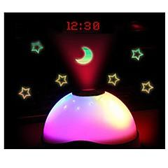 밤하늘 빛 별 빛나는 별빛 디지털 시계 별 변경 색상 별 하늘