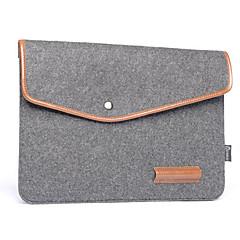 Notebook bélés csomag bőr gyapjú feltett számítógép táska 13,3 hüvelyk