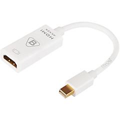 Mini dp hdmi przenośny adapter do macbook macbook air macbook pro cm aluminium