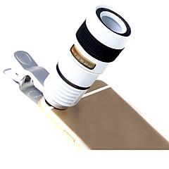 Lieqi lq-007 obiektyw aparatu obiektyw o długiej ogniskowej aluminium 8x soczewka do aparatów telefonicznych do smartfonów android