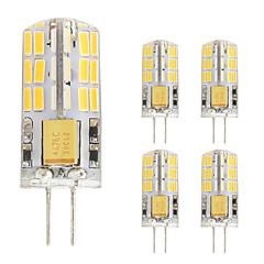 2W LED Φώτα με 2 pin T 48 SMD 4014 180 lm Θερμό Λευκό Ψυχρό Λευκό V 5 τμχ G4