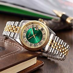 Heren Dames Sporthorloge Militair horloge Dress horloge Modieus horloge Unieke creatieve horloge Vrijetijdshorloge Gesimuleerd Diamant