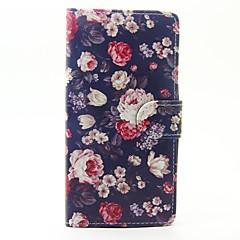 Geval voor wiko lenny 3 lenny 2 case cover de bloemen patroon pu lederen gevallen voor wiko zonsondergang 2
