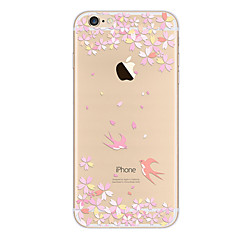 Den tpu-malede mobiltelefon beskytter den bløde shell til iphone-serien
