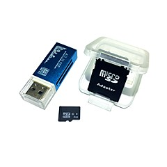 4gb microsdhc tf geheugenkaart met alles in één usb kaartlezer en sdhc sd adapter