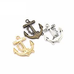 Breloczki Biżuteria Kotwica Stop Wiszący Ręcznie wykonane Biżuteria Na Office / Career Codzienne