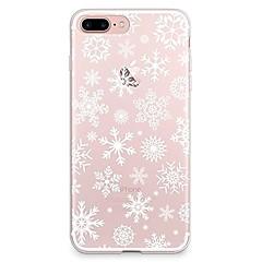 Για iPhone X iPhone 8 Θήκες Καλύμματα Διαφανής Με σχέδια Πίσω Κάλυμμα tok Χριστούγεννα Μαλακή TPU για Apple iPhone X iPhone 8 Plus iPhone