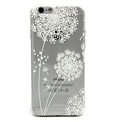Käyttötarkoitus iPhone 7 iPhone 7 Plus kotelot kuoret Ultraohut Läpinäkyvä Kuvio Takakuori Etui Voikukka Pehmeä TPU varten Apple iPhone 7