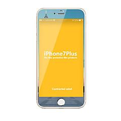Szkło hartowane Screen Protector na Apple iPhone 7 Plus Folia ochronna całej zabudowy Antyodciskowa Wysoka rozdzielczość (HD) Twardość 9H