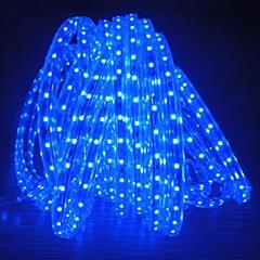 8m 220v higt heldere LED licht strip flexibel 5050 480smd drie kristal waterdicht lichtbalk tuinverlichting met eu stekker